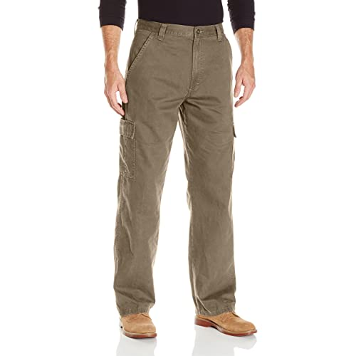 758eb130 Wrangler Authentics Men's Classic Twill Relaxed Fit Cargo Pant