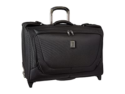 Travelpro Crew 11 Carry-On Rolling Garment Bag (Black) Carry on Luggage