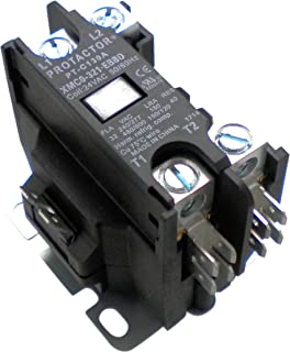OneTrip Parts Contactor 1 Pole 32 Amp Protactor Heavy Duty Enclosed Replacement For Carrier Bryant Payne P282-0311