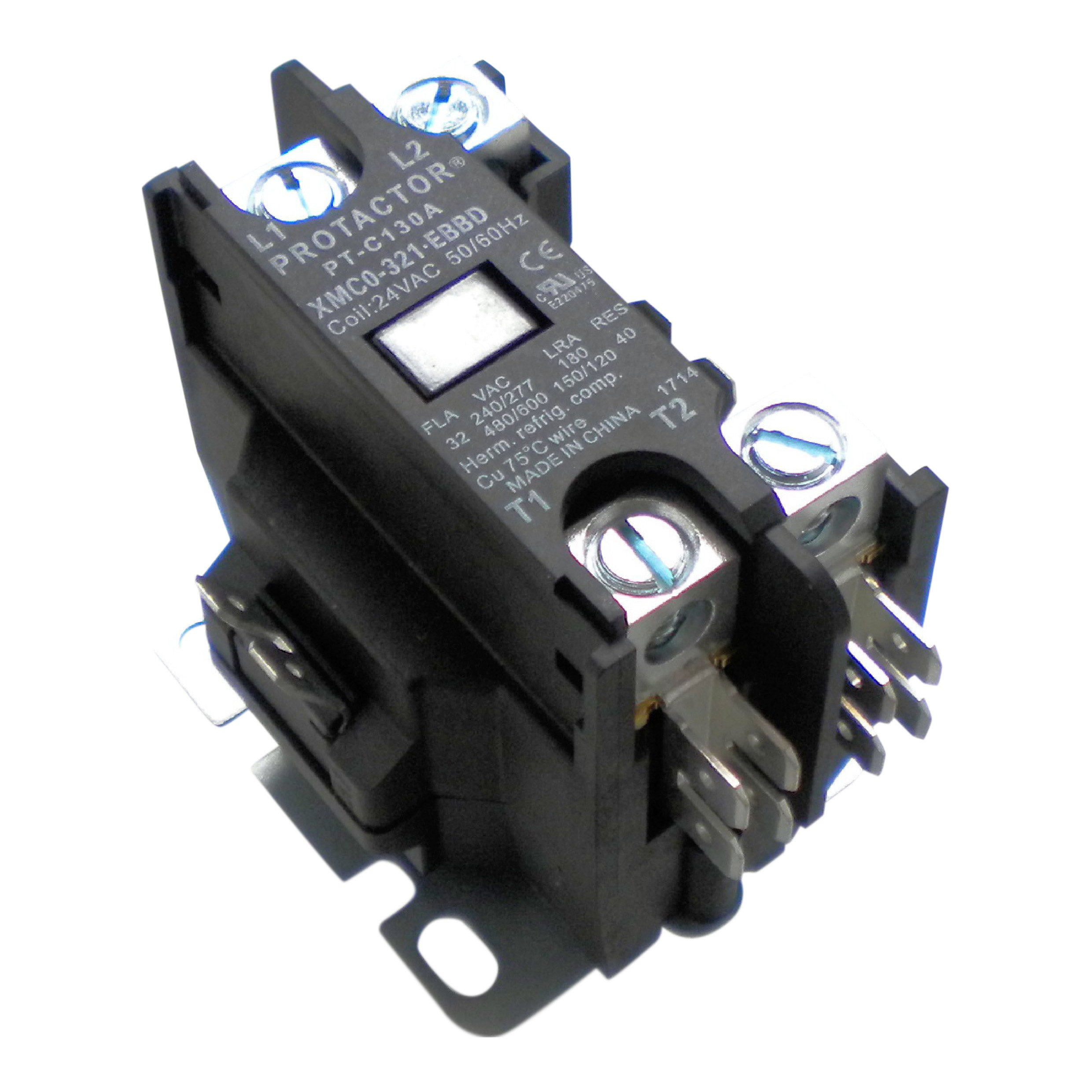 hvac contactor amazon comprotactor 1 pole 32 amp heavy duty ac contactor replaces virtually all residential 1 pole models
