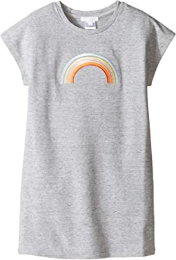 Chloe Kids - Rainbow Milano Short Sleeve Dress (Little Kids/Big Kids)