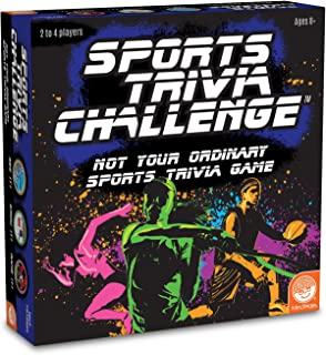 MindWare Sports Trivia Family Board Game – Over 400 Sports Trivia Questions with Beginner & pro Options – Fun for Kids & Adults Ages 8+