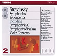 Stravinsky: Symphonies & Concertos