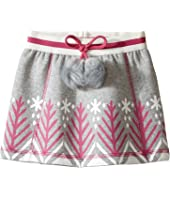 Hatley Kids - Bonded Sherpa Pom Pom Skirt (Toddler/Little Kids/Big Kids)