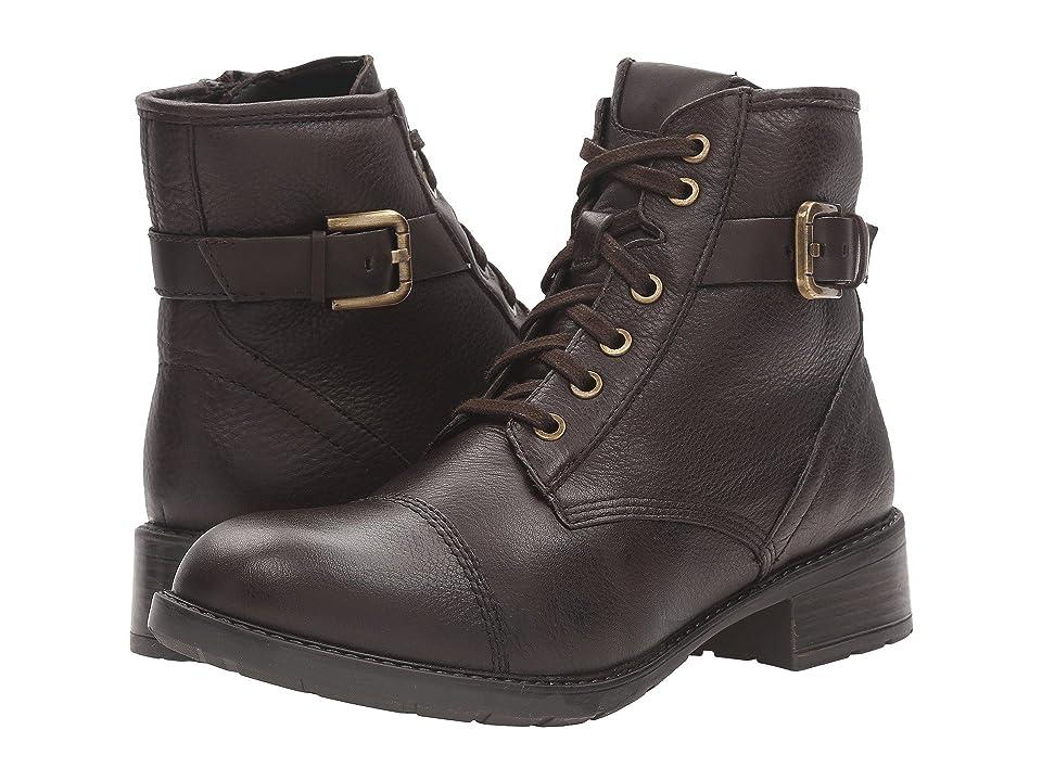 Clarks Swansea Ledge (Dark Brown Leather) Women