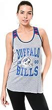 Ultra Game NFL Women's Super-Soft Mesh Jersey Racerback Tank Top