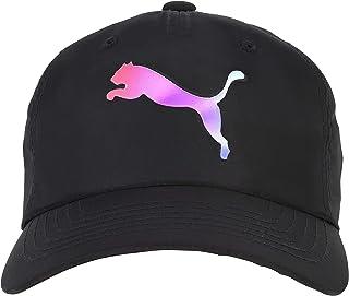 PUMA Women's Evercat Kaleidoscope Adjustable Backstrap Baseball Cap Hat Black
