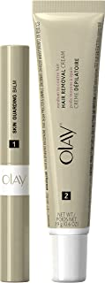 Olay Smooth Finish Facial Hair Removal Duo Medium to Coarse Hair 1 Kit