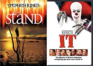 Stephen King's Epic Television Series Bundle - It (1990) & The Stand 3-DVD Bundle