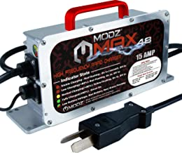 MODZ MAX 48 - Golf Cart High Frequency Rapid Charger - Crowfoot with Six 8 Volt