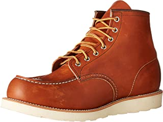 "[レッドウィング] RED WING 6INCH CLASSIC MOC TOE BOOT 9106 RED BROWN(レッド 6"" Moc Toe-M"