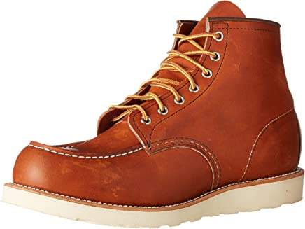 Red Wing 6-inch Moc Toe Mens Boots Tan - 6 UK : boots
