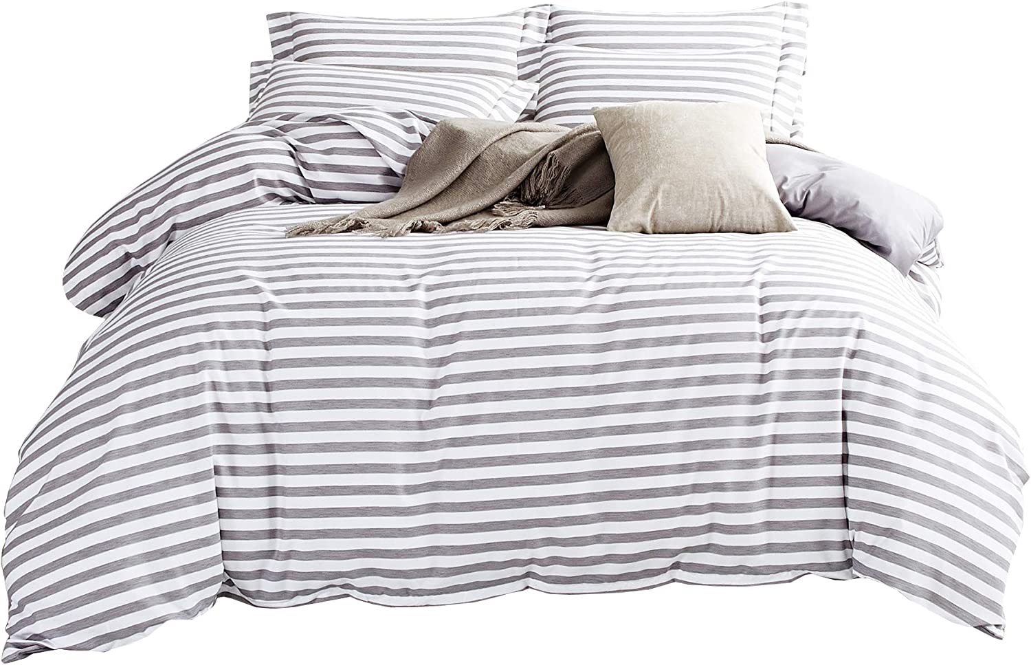 3 Pieces Translated Bedding Set Reversible Cover Duvet Very popular Sets White Cov