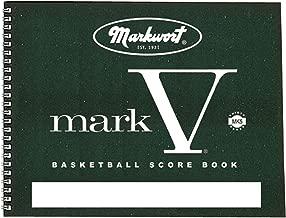 Markwort Mark V Basketball Scorebook 30 Games