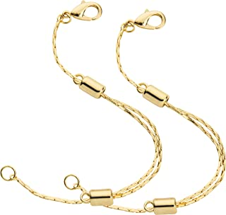 necklace chain extender gold