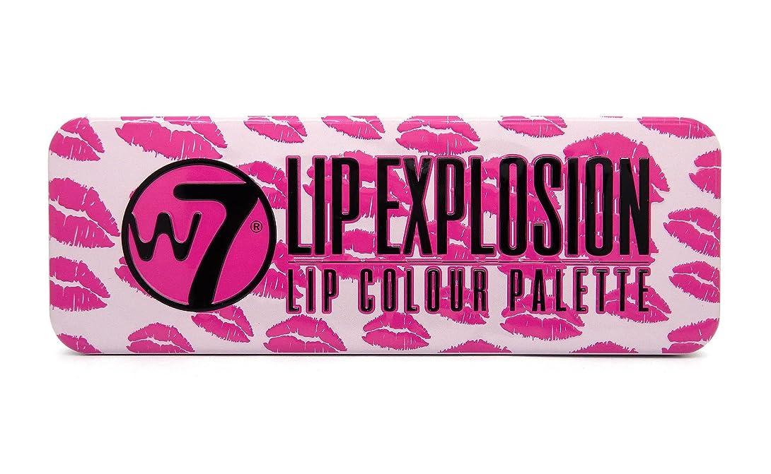 飾るランチ推進、動かすW7 Lip Explosion Lip Colour Palette (並行輸入品)