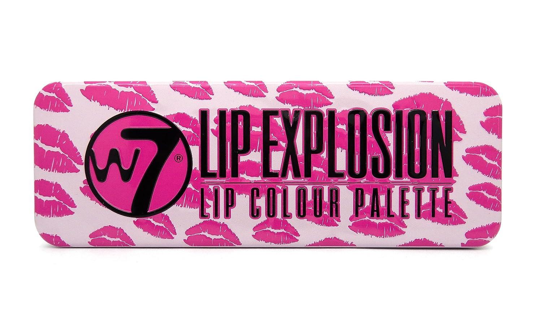 デコラティブ世論調査家畜W7 Lip Explosion Lip Colour Palette (並行輸入品)