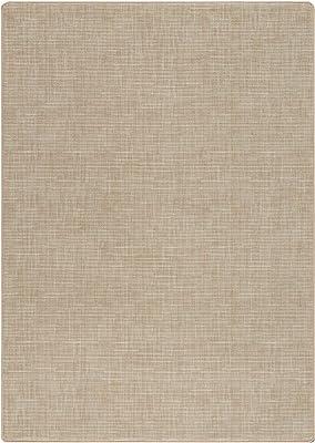 Amazon Com Milliken Imagine Figurative Collection Broadcloth Area Rug 5 4 X 7 8 Cashmere Furniture Decor