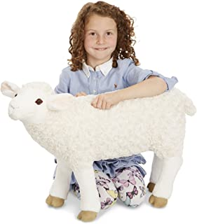 Melissa & Doug Sheep - Plush   Soft Toy   Animal   All Ages   Gift for Boy or Girl