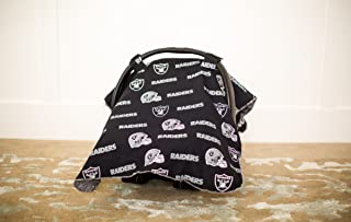Carseat Canopy (NFL Oakland Raiders) Baby Infant Car Seat Cover
