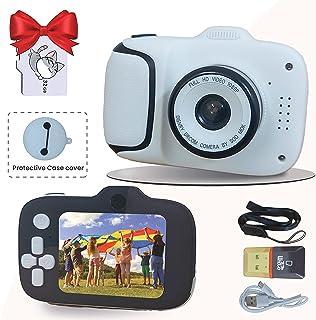 كاميرا سيلفي للأطفال   هدايا عيد ميلاد للبنات والأولاد من سن 3 إلى 12   كاميرا أطفال 20 ميجا بكسل 1080 بكسل عالية الدقة لل...