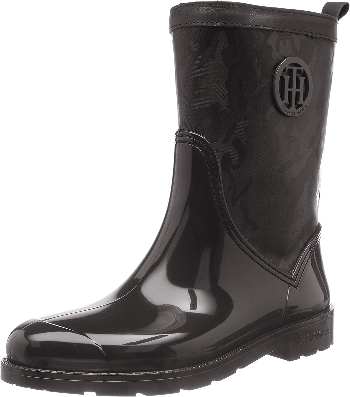 1ac3e1fc11a26 Tommy Hilfiger Damen Shiny Camo Rain   Sofortige Lieferung   Sale ...