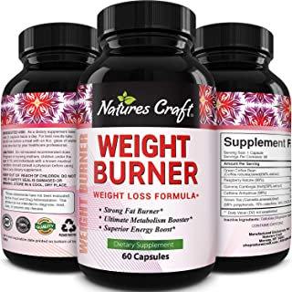 Natural Metabolism Booster for Weight Loss - Green Coffee Bean Extract for Weight Loss and Natural Energy supplement with ...