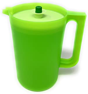 Tupperware 2 Qt Lime Green Pitcher