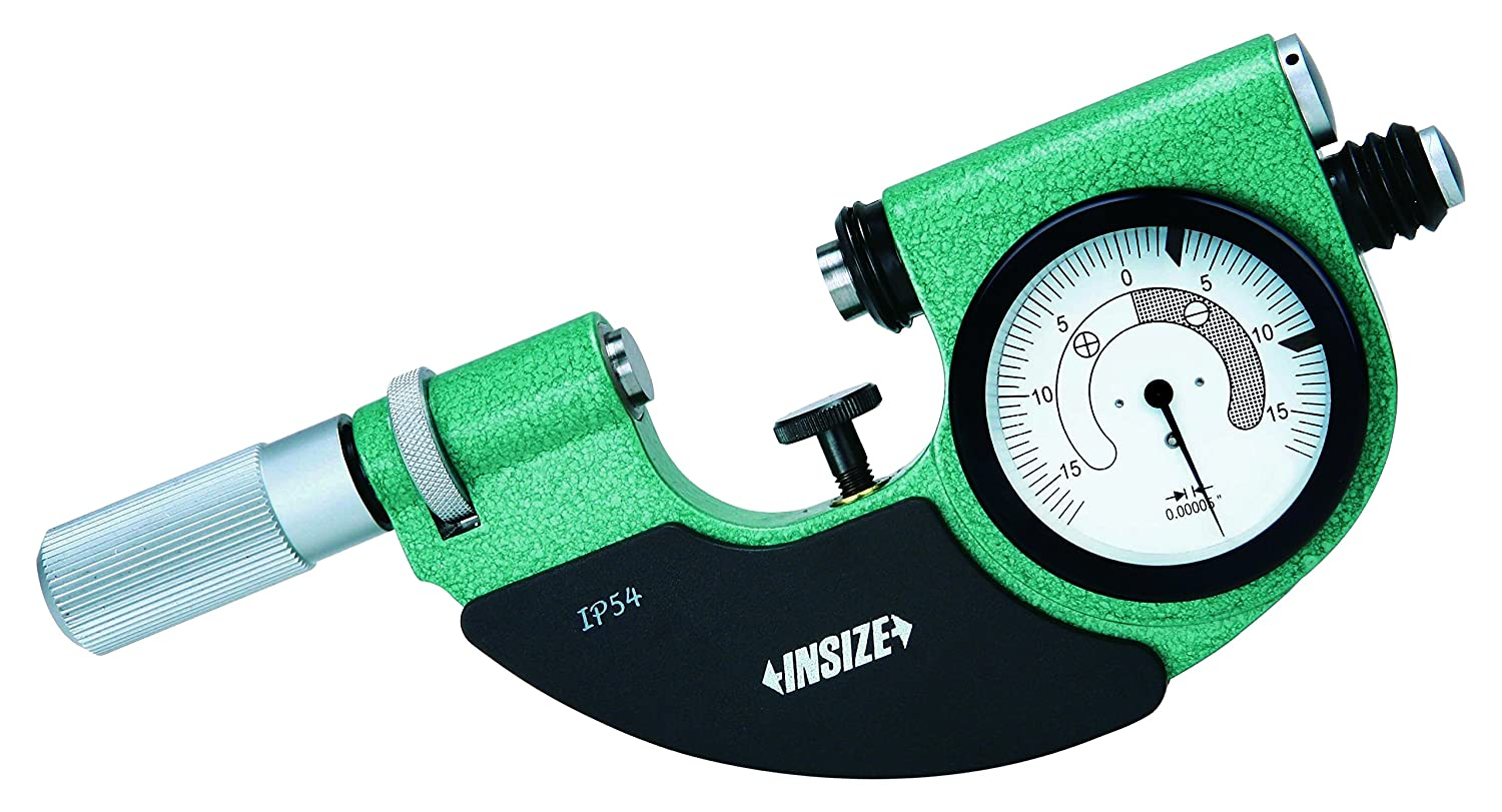 INSIZE 3334-2 Dial Snap Gage Safety and trust - 0.00005