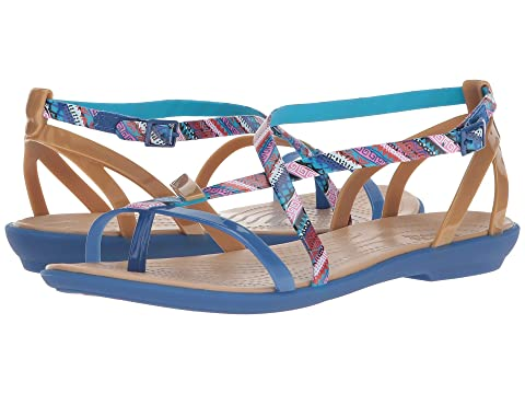882016e4a8a Crocs Isabella Gladiator Graphic Sandal at 6pm