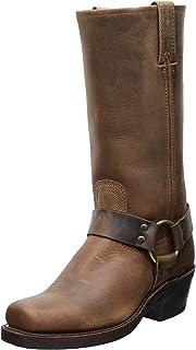 حذاء Frye للنساء Harness 12R، أسمر ضارب للصفرة، 6