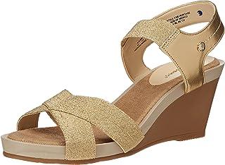 Hush Puppies HPALEJANDRA zapatos de tacón para mujer color oro