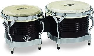 Latin Percussion M201 LP Matador Wood Bongos - Dark Brown/Chrome