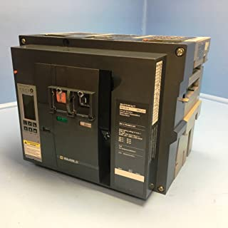 New Square D NW08N 800A MasterPact Circuit Breaker w 800 Amp Trip NW 08 N LSI