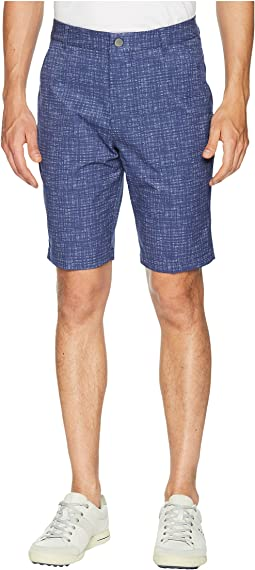 PWRCOOL Mesh Plaid Shorts