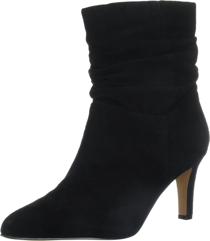 Adrienne Vittadini Womens Shanta Ankle Boot