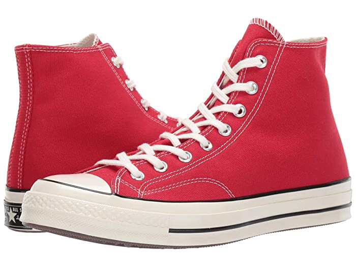 Converse  Chuck Taylor All Star 70 Hi (Enamel Red/Egret/Black) Athletic Shoes