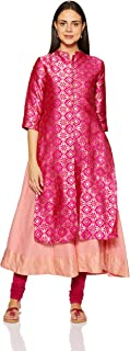 Amazon Brand - Myx Women's Anarkali Salwar Suit Set