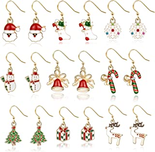 Christmas Earrings Holiday Jewelry Set gifts for Womens...