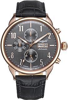 インガーソル 腕時計 自動巻き フルカレンダー 44mm IN1415RGY [並行輸入品]
