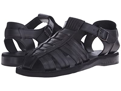 Jerusalem Sandals Barak Mens (Black) Men