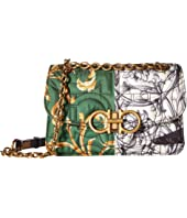 Salvatore Ferragamo - Quilted Multi-Print Crossbody Bag