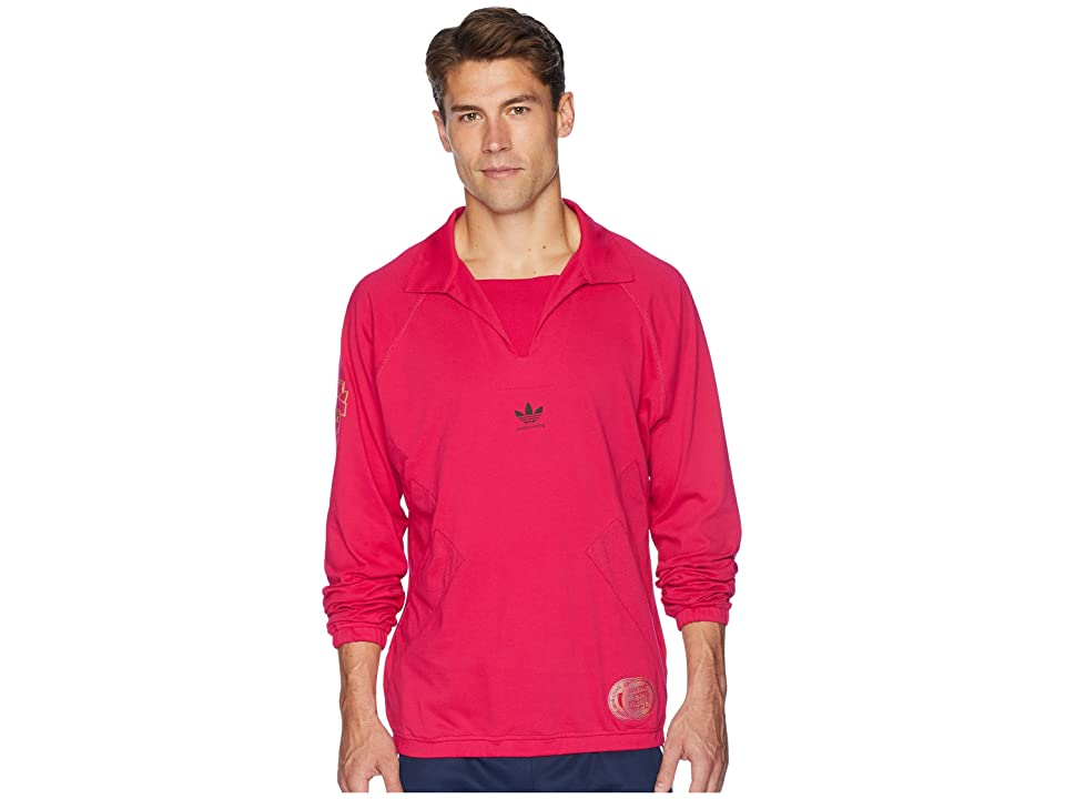 Image of adidas Skateboarding Blondey Jersey (Bold Pink) Men's Short Sleeve Pullover