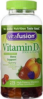 VitaFusion Vitamin D3 2,000 IU Gummy Vitamins for Adults - 275 Gummies