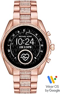 Michael Kors Access Bradshaw 2 Smartwatch- Powered with Wear OS by Google with Speaker, Heart Rate, GPS, NFC, and Smartphone Notifications.