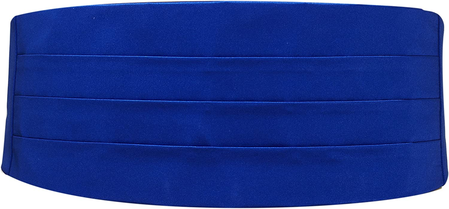 Royal We OFFer at cheap prices Shipping included Blue Satin Cummerbund
