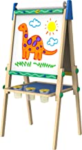 Crayola Kids Wooden Easel, Dry Erase Board & Chalkboard, Amazon Exclusive, Kids Toys,..