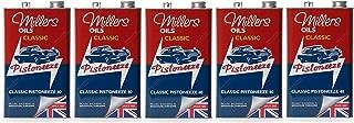 Millers Classic Pistoneeze 40 Aceite de Motor Monograde ZDDP, bajo detergente, 25 litros