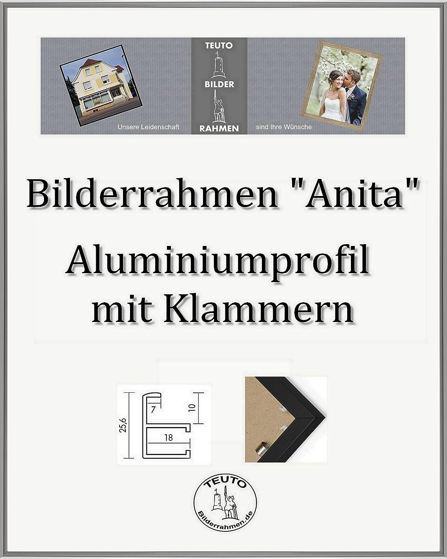 ordene ahora los precios más bajos Teuto-Bilderrahmen Anita Marco de Aluminio 30 x 98 cm Simple Simple Simple Firme Elegante con Vidrio acrílico antirreflexivo 2 mm en 10 Colors Diferentes aquí  Plata Antigua Pulida  precios mas bajos