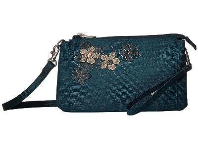 Haiku Stride (Juniper) Cross Body Handbags